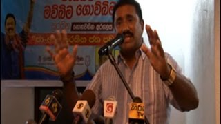 Rohitha says the govt. would intend to further delay the election