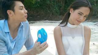 Yaya and Mark so cute and funny ll Filming Kluen cheewit