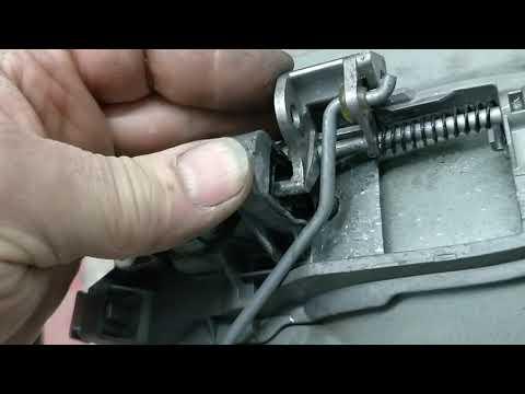 Как снять наружную ручку двери volvo xc90.