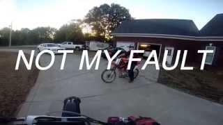 getlinkyoutube.com-Noob Crashes My Guest Bike!! EP-18