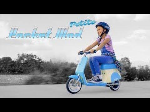 Razor Pocket Mod Petite Electric Scooter - Blue