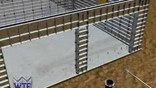 getlinkyoutube.com-Concrete Forms Construction of Reinforced Concrete Walls