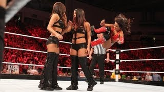 getlinkyoutube.com-Layla vs. Nikki Bella vs. Brie Bella - Triple Threat Divas