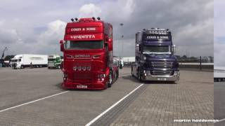 scania's V8 from united kingdom by truckstar festival 2016