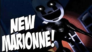 getlinkyoutube.com-Five Nights at Freddys 4 Halloween Edition: NIGHTMARIONNE JUMPSCARE! EXTREMELY CREEPY! NIGHT 7!