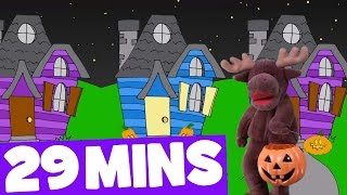 getlinkyoutube.com-Trick or Treating Song and More | 29mins Halloween Songs Collection for Kids