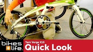Tern Verge X10 Folding Bike Video Review