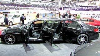 getlinkyoutube.com-2014 Mercedes-Benz E350 4Matic Benz Limousine Edition - Exterior and Interior Walkaround