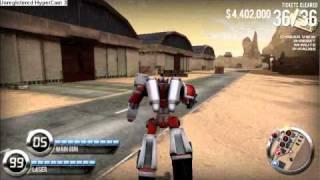getlinkyoutube.com-Burnin rubber 4 , ROBOT with unlimited ammo !