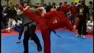 1998 Battle of Atlanta Karate Tournament Daytime Highlights for Fighting Eliminations