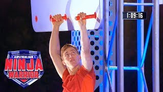 Ninja run: Bryson Klein (Semi final) | Australian Ninja Warrior 2018 width=