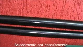 getlinkyoutube.com-Carabina de Pressão HATSAN HT 150 TH 5.5 VERDE