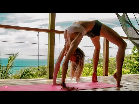 Sore Back Release ♥ Yoga For Beginners | 5 Min Miracle