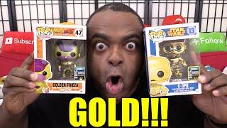 getlinkyoutube.com-GOLDEN FRIEZA & C-3PO Funko Pop Figures Unboxing!