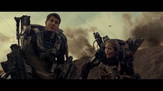 Edge of tomorrow (2014) -  Beach battle - Only Action [1080p] width=