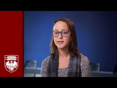 The University of Chicago Graham School HSI Bridge Scholar Laura Caballero