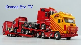 getlinkyoutube.com-WSI Scania R143 Truck Transporter 'VSB' by Cranes Etc TV