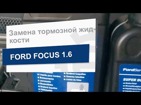 Замена тормозной жидкости Ford 1776311 та 1776310 на Ford Focus