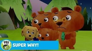 getlinkyoutube.com-SUPER WHY! | The Three Bears Hear a Scary Noise | PBS KIDS