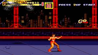 Streets of Rage 2 Blaze Playthrough