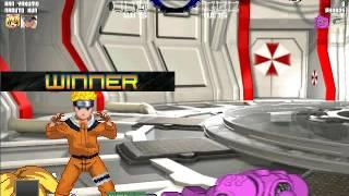 getlinkyoutube.com-Mugen Survival Mode: Ran Yakumo & Naruto