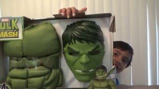 getlinkyoutube.com-HULK Happy Halloween costume Review