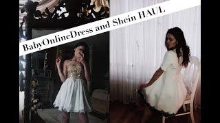 Shein/BabyonlineDress HAUL | Claudi