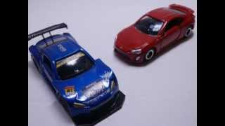 getlinkyoutube.com-【トミカ改造で】スバルBRZ GT300 レースカー【作ってみた】
