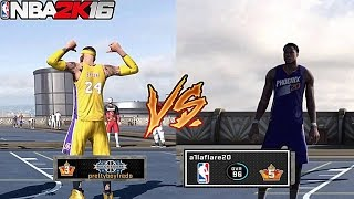 getlinkyoutube.com-Prettyboyfredo Vs NBA Player Archie Goodwin!!! Best out of 3!!! NBA 2K16