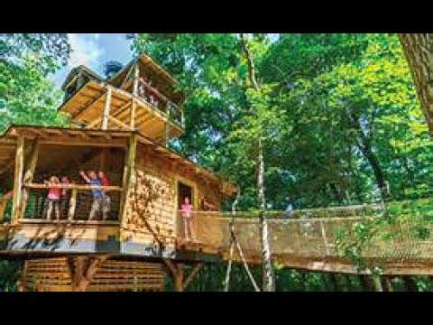 Conner Prairie Treetop Outpost in Fishers, IN