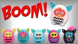 McDonald's Happy Meal Furby Boom Collection 2013