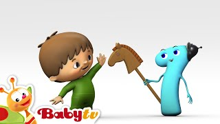 Counting with Charlie & The Numbers - Charlie Meets Number 1 - BabyTV