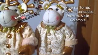 getlinkyoutube.com-Los muñecos mas hermosos de Navidad 2014