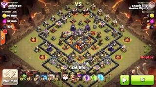 getlinkyoutube.com-[JL coc] 3 star high TH10!!! 5 different bases!!!