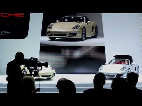 Geneva 2012: The World Premiere of the new Porsche Boxster