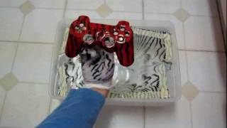 getlinkyoutube.com-How to mod your controller - Mydipkit how to diy hydrographics