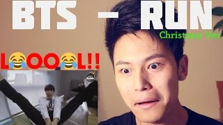 getlinkyoutube.com-BTS - RUN Christmas Ver. Reaction (THIS IS TOO FUNNY!!)
