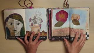 getlinkyoutube.com-2 Completed Wreck This Journals (Double Flip Through!)