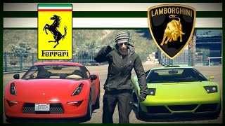 getlinkyoutube.com-LIKE A FERRARI vs LAMBORGHINI | GTA V PC Cinematic Short Film - ROCKSTAR EDITOR