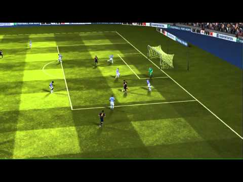 FIFA 14 iPhone/iPad - FC Barcelona vs. Manchester City
