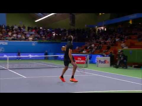 If Stockholm Open well played by Mikael Ymer against Karlovic