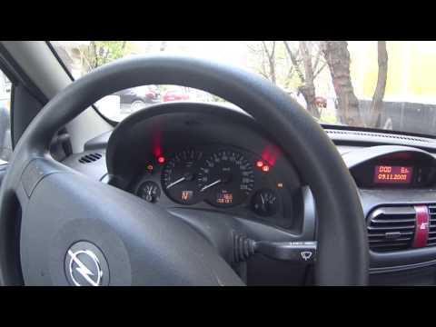 Буква 'F' на панели Opel Corsa 'C' 2005г.