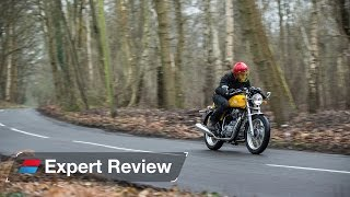 getlinkyoutube.com-Royal Enfield Continental GT bike review