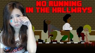 getlinkyoutube.com-No Running In The Hallways | โรงเรียนหลอกนักเรียนหลอน zbing z.