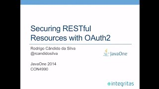 getlinkyoutube.com-Securing RESTful Resources with OAuth2