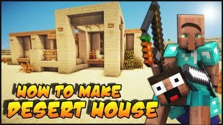 getlinkyoutube.com-Minecraft: How To Make a Desert Survival House