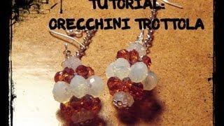 "getlinkyoutube.com-Tutorial per principianti: Orecchini ""Trottola"""