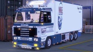 getlinkyoutube.com-ETS 2 | Scania 143 | Streamline BDF | KPT | Skovgaard Driving
