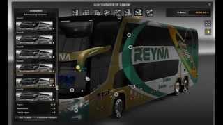 getlinkyoutube.com-Euro Truck Simulator 2 mod 25 Buses peruanos G7DD6x2