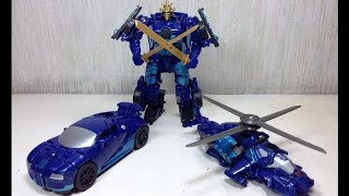 getlinkyoutube.com-One Step Drift Transformers 4 Age of Extinction 1 Step Toy Review